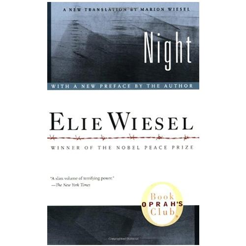 </p> <p><center>Elie Wiesel</center>